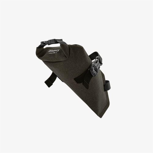 BROOKS Scape Saddle Roll Bag - Mud Green