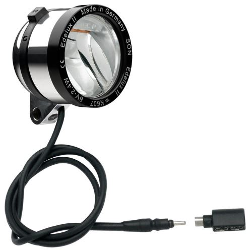 SON Edelux II přední světlo (Koax Adapter)