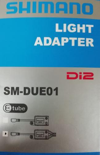 SHIMANO adaptér STePS SM-DUE01 pro přední a zadní světlo vč. 2 kabelů