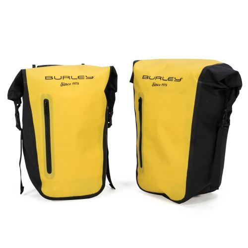 BURLEY Coho XC - zadní brašny žluté
