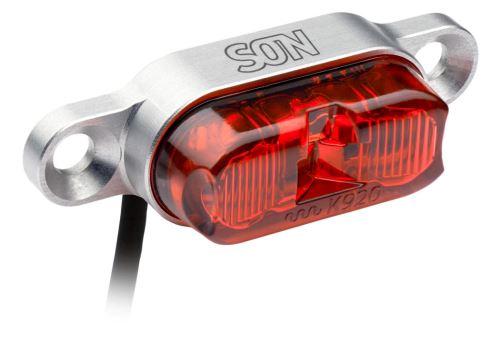SON Zadní světlo DC (na nosič)